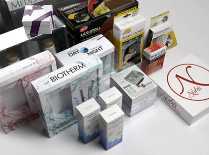 Faltschachteln: Verpackungen