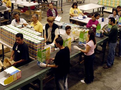Konfektionierung: Lohnverpackung