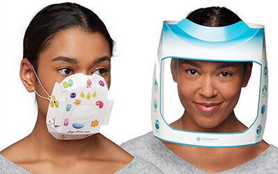 RHIEM: Masken und Gesichtsvisiere in Großauflage