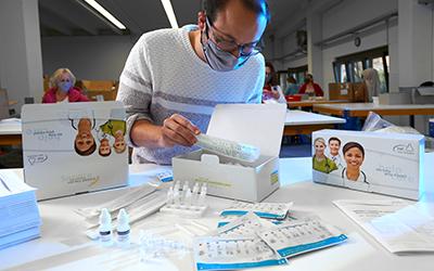 Flexible Hilfe zur Bekämpfung der Corona-Pandemie