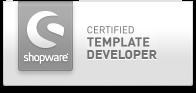 Shopware certified template developer
