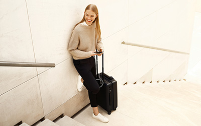 RHIEM: Smart luggage on safe routes