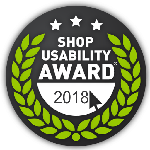 Shop Usability Award 2018